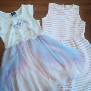 Bundle of 2 LIKE NEW Girl's Dresses